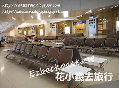 香港國際機場第二航廈地層的休息區