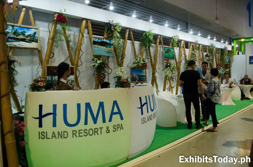 Huma Island Resort & Spa Exhibit Booth