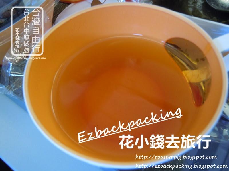 長榮航空-香港去台北飛機餐餐飲:熱茶