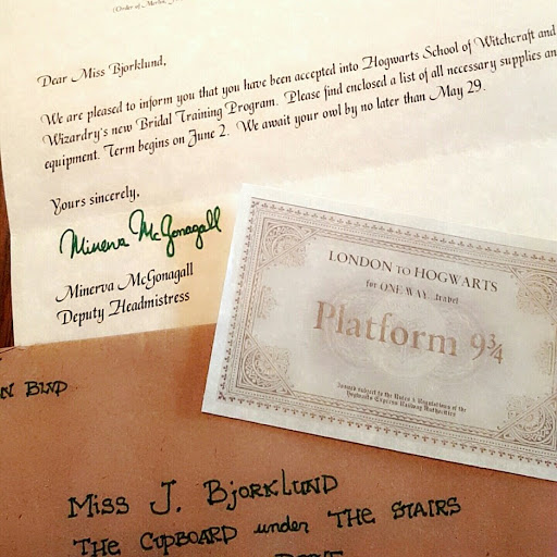 harry potter themed bachelorette party universal studios wizarding world of harry potter hogwarts letter diy