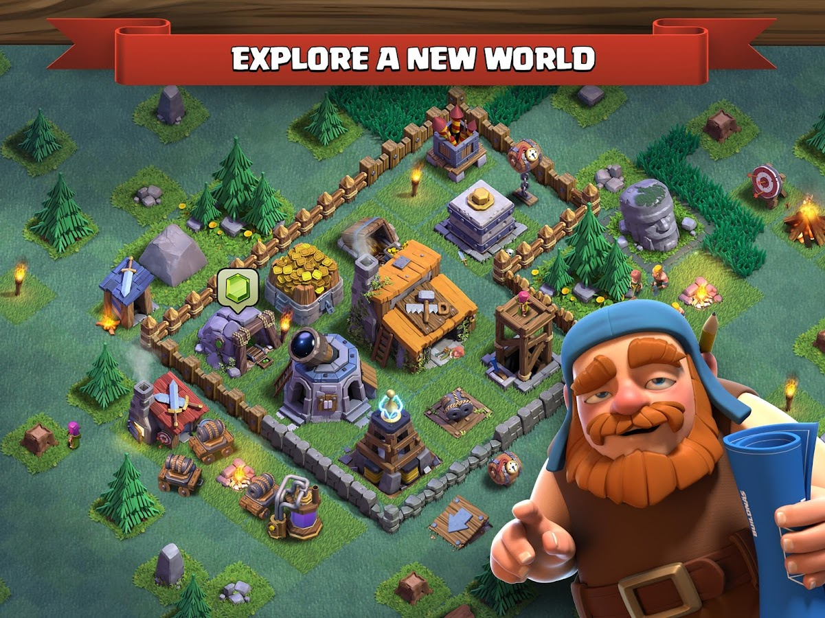 Clash of Clans v9.256.8 Mod Android Apk Download