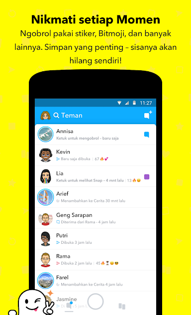 Download Aplikasi Snapchat Apk