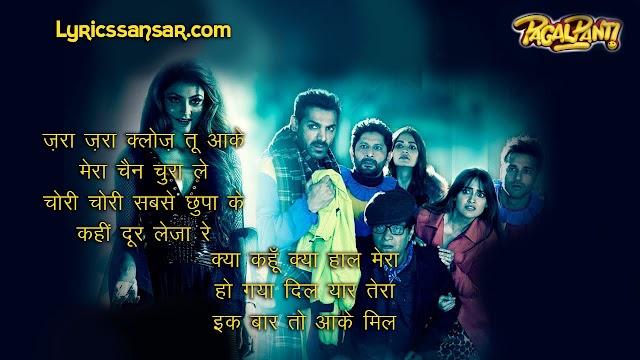 Pagalpanti : Bimar Dil Lyrics & Video Song