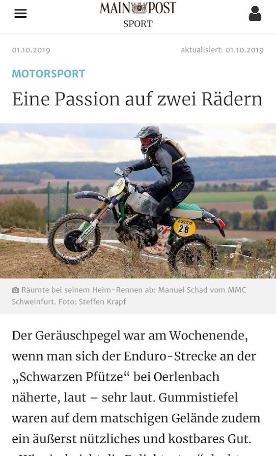 https://www.mainpost.de/sport/schweinfurt/Automobil-und-Rennsport-Angst-Enduro-Geraet-Rallyes-Wellenreiten-Debakel-Familienvaeter-Motoren-Leichtathletik-Eine-Passion-auf-zwei-Raedern;art795,10324048