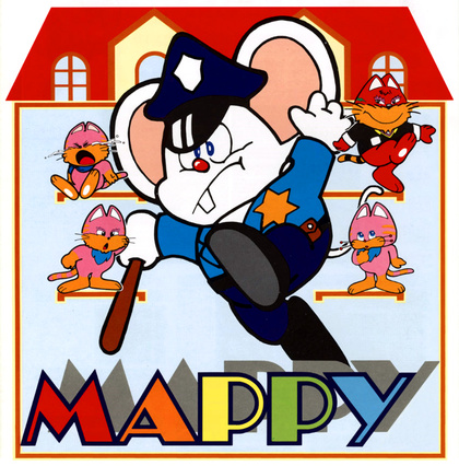 Mappy (Cover Art)