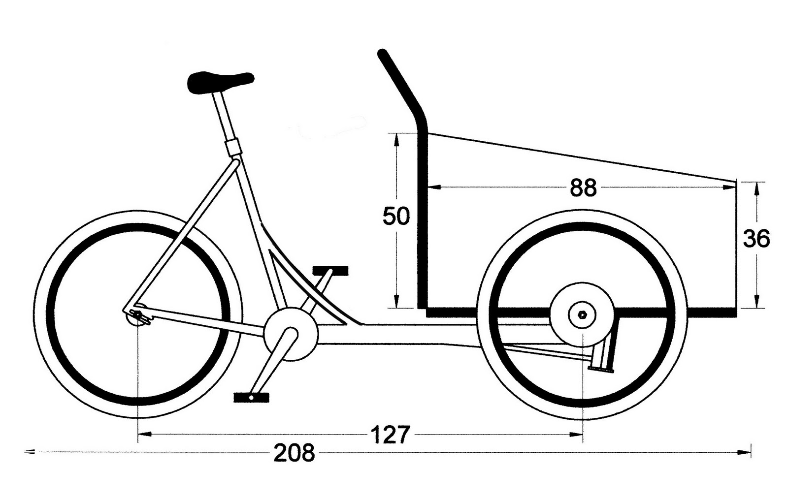 Freth S Recumbents Cargotrike Plans Cargo Trike Plans