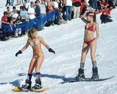 Snowboard pussy
