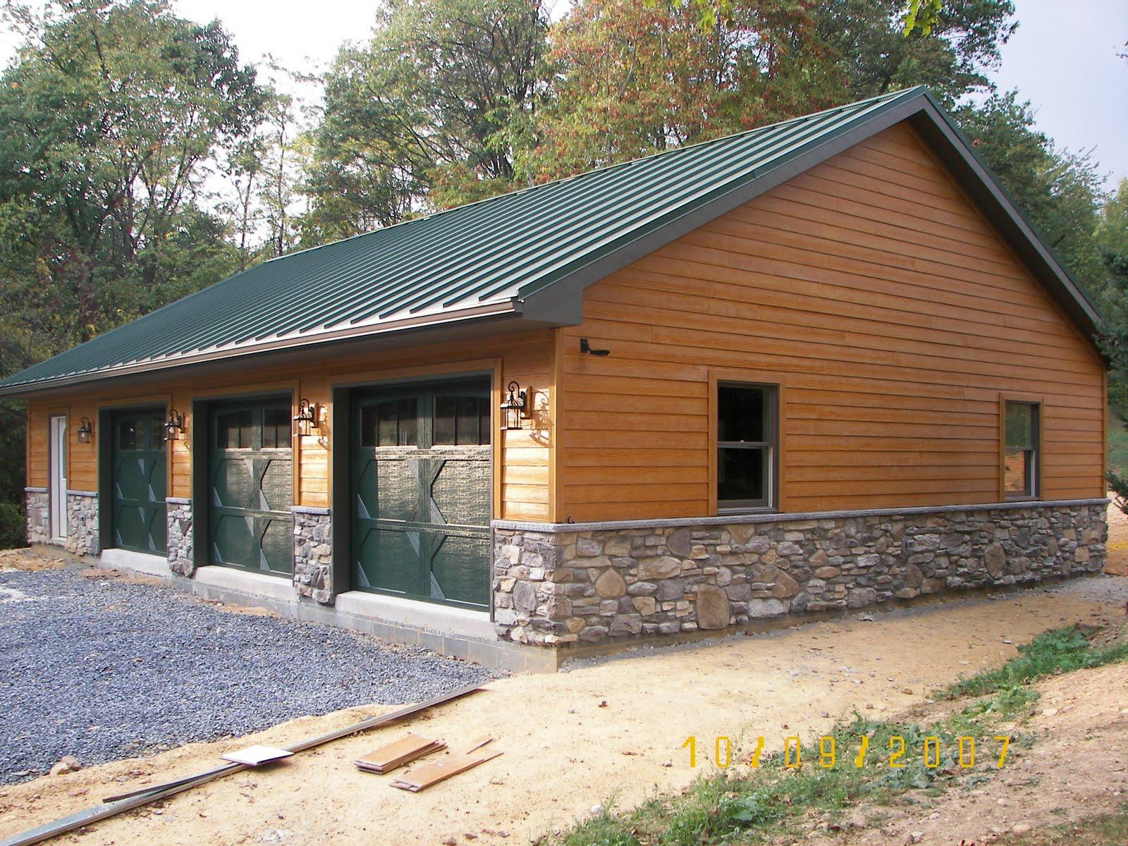 Fred E Ocker Builder 3 Bay Garage