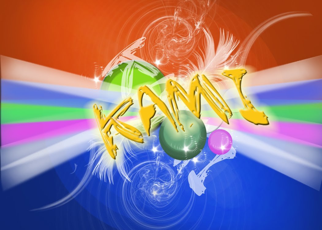 Kamran Ahmed Soomro  Kami Wallpaper Create In Photoshop Cs4