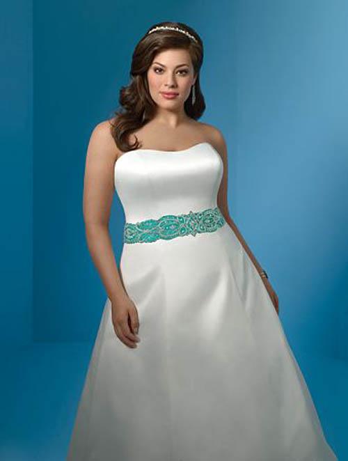 Elegant Perfect Plus Size Wedding Dresses