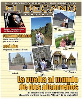 Portada El decano, the BOBs, vuelta al mundo, round the world, La vuelta al mundo de Asun y Ricardo, mundoporlibre.com