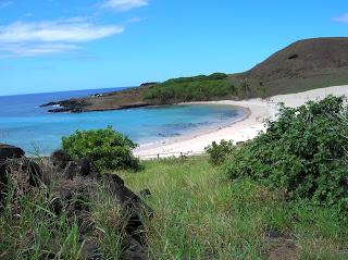 playa anakena, isla de Pascua, easter island, chile,vuelta al mundo, round the world, información viajes, consejos, fotos, guía, diario, excursiones