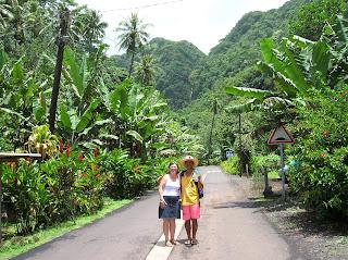 Vegetación en Tahití, Polinesia Francesa, vuelta al mundo, round the world, La vuelta al mundo de Asun y Ricardo