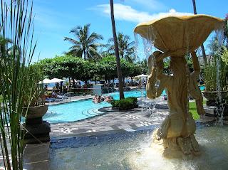 Piscina, Club Bali Mirage, Nusa Dua, Bali, Indonesia, vuelta al mundo, round the world, La vuelta al mundo de Asun y Ricardo