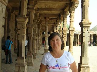 Ruinas de Qutab Minar, Qutub Minar, Nueva Delhi, New Delhi, India, vuelta al mundo, round the world, La vuelta al mundo de Asun y Ricardo