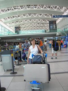 Aeropuerto de Ezeiza, Buenos Aires, Argentina, vuelta al mundo, round the world, La vuelta al mundo de Asun y Ricardo