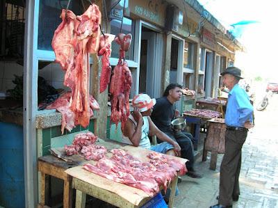 carniceria, sin higiene, vuelta al mundo, round the world, La vuelta al mundo de Asun y Ricardo