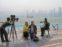 Avenida de las Estrella, Avenue of Stars, Hong Kong, China, vuelta al mundo, round the world, La vuelta al mundo de Asun y Ricardo