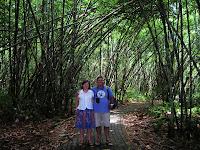 Bosque bambú, Bali, Indonesia, vuelta al mundo, round the world, La vuelta al mundo de Asun y Ricardo