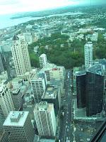 Vista desde Sky Tower, Auckland, Nueva Zelanda, vuelta al mundo, round the world, La vuelta al mundo de Asun y Ricardo