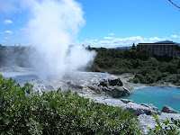 Parque Termal de Whakarewarewa, Rotorua, Nueva Zelanda, vuelta al mundo, round the world, La vuelta al mundo de Asun y Ricardo