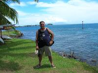 Playa de Tahití, Polinesia Francesa, vuelta al mundo, round the world, La vuelta al mundo de Asun y Ricardo