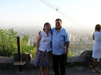 Parque Metropolitano, Cerro de san Cristóbal, Santiago de Chile, Chile, vuelta al mundo, round the world, La vuelta al mundo de Asun y Ricardo