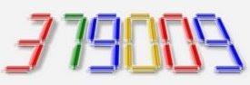 ¿Qué ocurre si giras el logo de Google pi radianes? 1