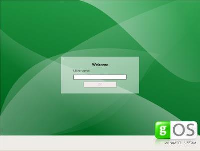 gOS, el sistema operativo Web20 3