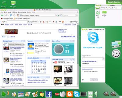 gOS, el sistema operativo Web20 2