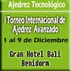 Ajedrez Tecnológico en Benidorm 1