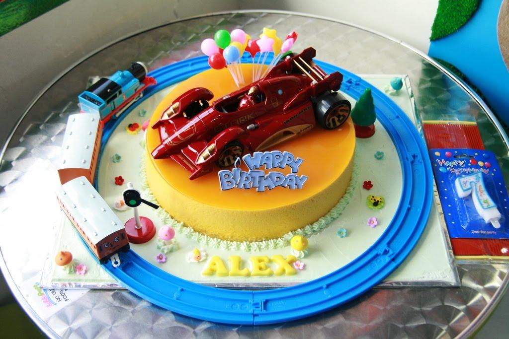 Haven Bakery Alex Birthday Cake