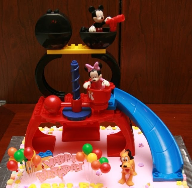 Haven Bakery Ashley Mickey Mouse Club House Birthday Cake