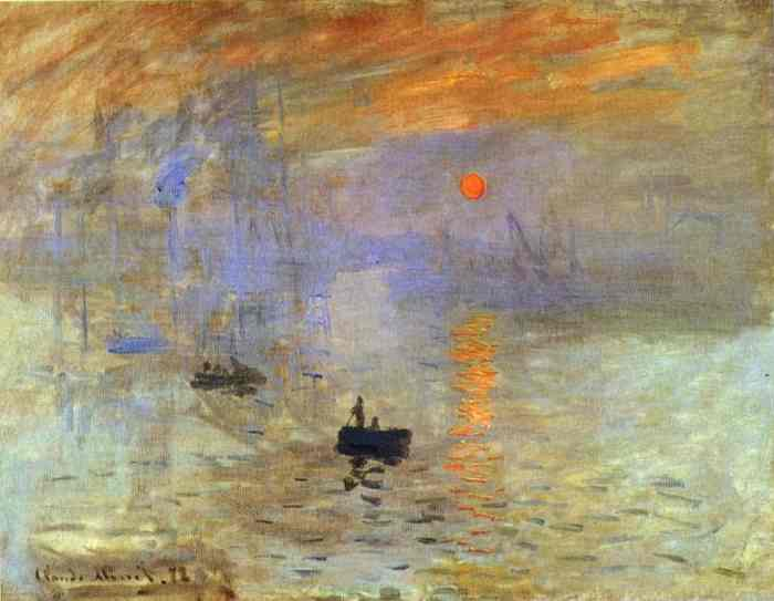 Sunrise -- Claude Monet