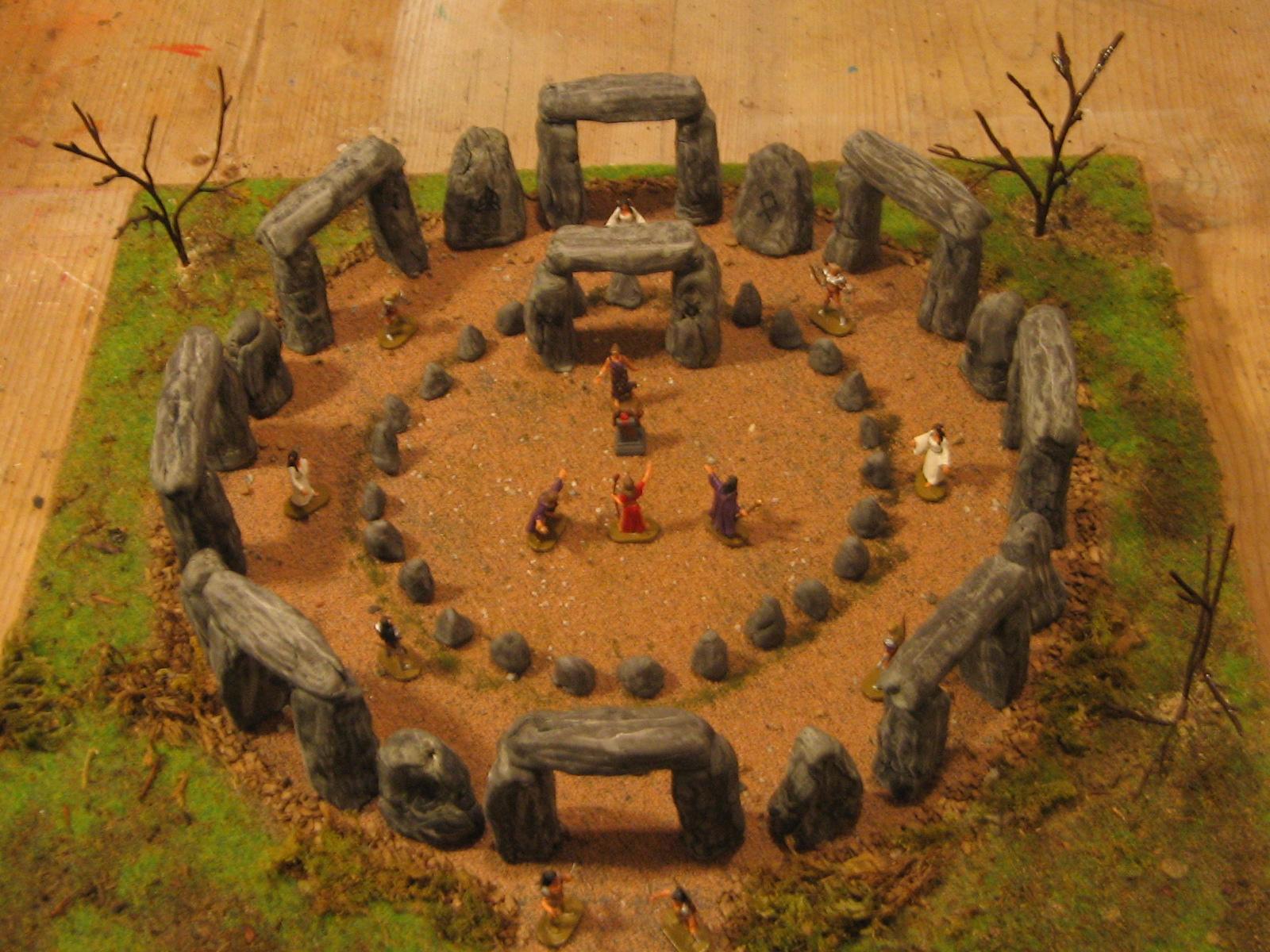 Il passato ritorna Diorama il mio piccolo Stonehenge
