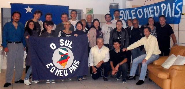 6c810cdc0 A Conferência Nacional com 50 pessoas que Querem Separar o Sul do Brasil