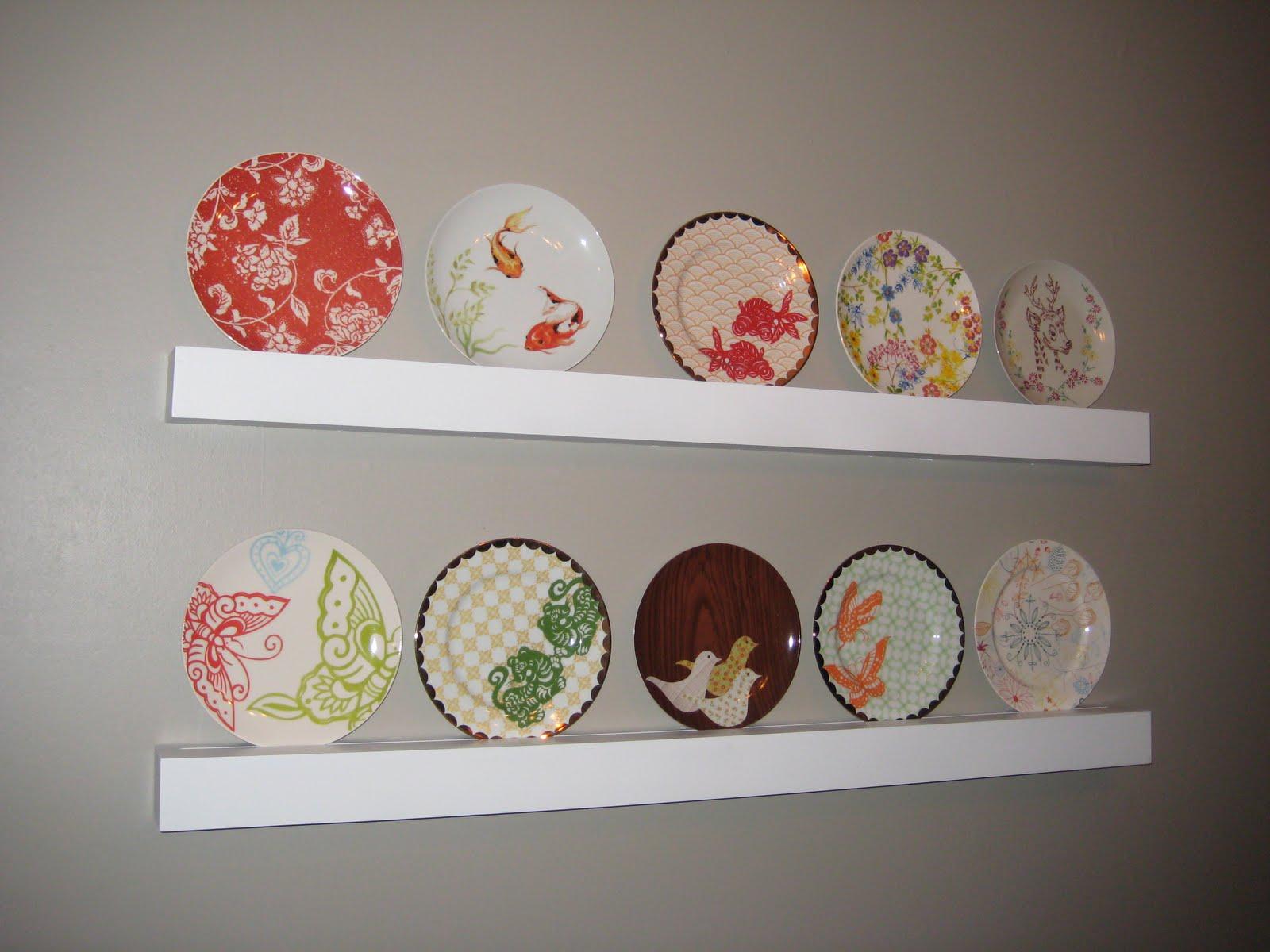 16 Beautiful Plate Shelves For The Wall Sfconfelca Homes