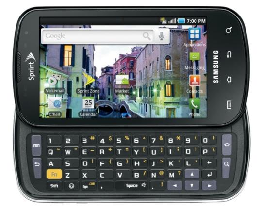 63653d583d Samsung Epic 4Gはその名の通りSprintの4G WiMAXネットワークに対応した端末。台湾HTC製Androidスマートフォン「HTC  EVO 4G」に続く、Sprint 4Gネットワーク普及を ...