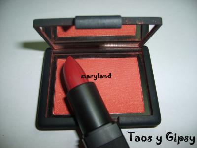 Labios rojos + colorete rojo-541-makeupbymariland