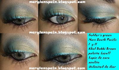 Look Verdes + Azules en tonos pastel-562-makeupbymariland
