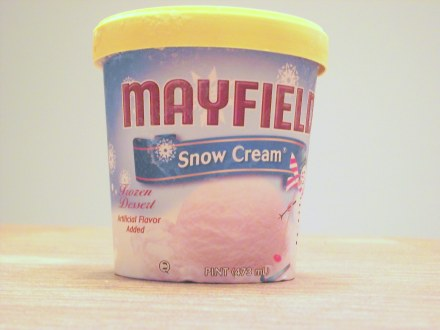 Youve Been Reviewed: Mayfield Snow Cream has kids asking for