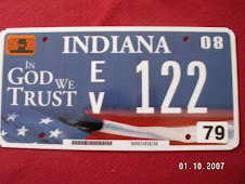 Our Indiana License Plate