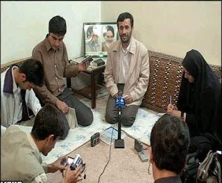 presiden iran Ahmadinejad David