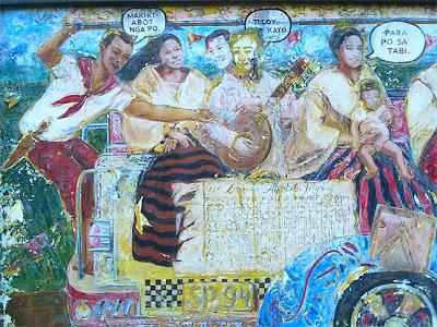 Superpasyal street art quirino grandstand for Bonifacio mural painting