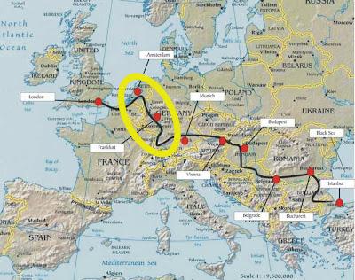 The Great European Bicycle Tour Amsterdam To Freiburg Germany