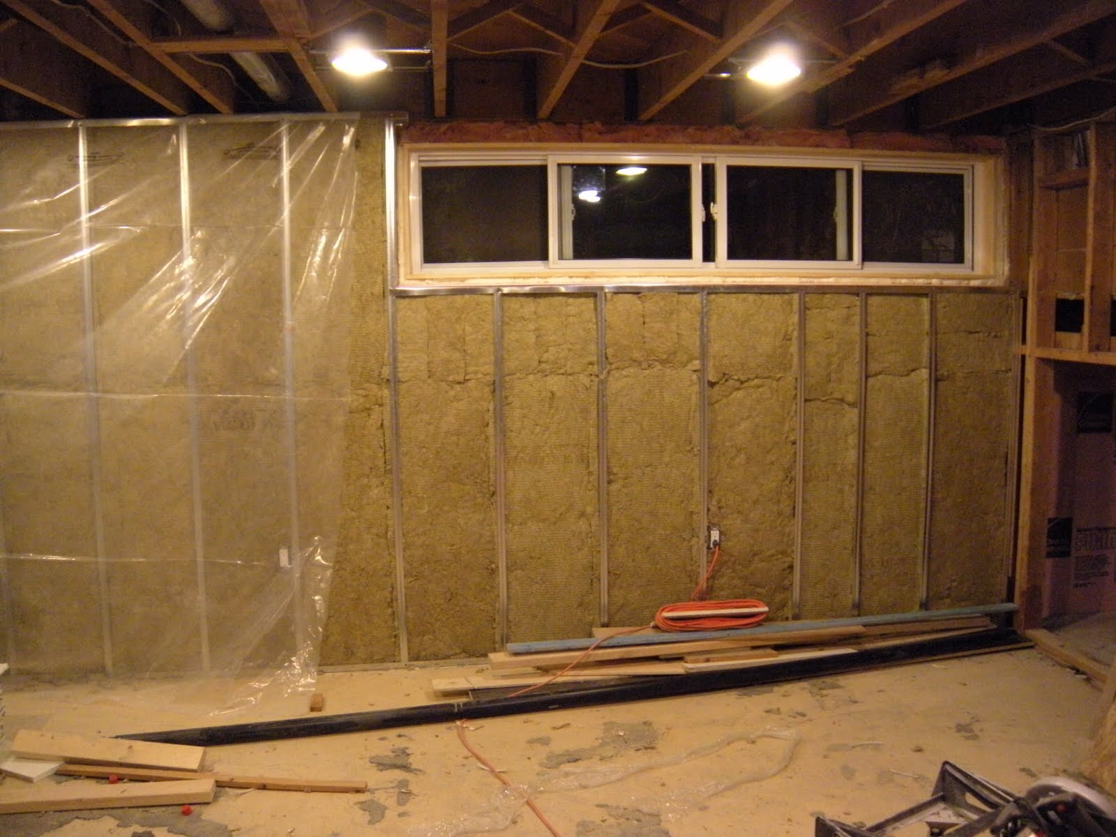 Our Journey: Basement Insulation Is Almost Done