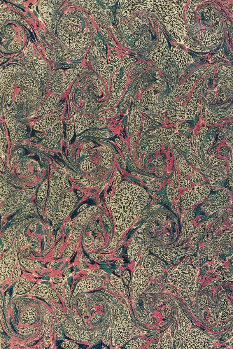 Tabatha Yeatts The Opposite Of Indifference Marbled Paper