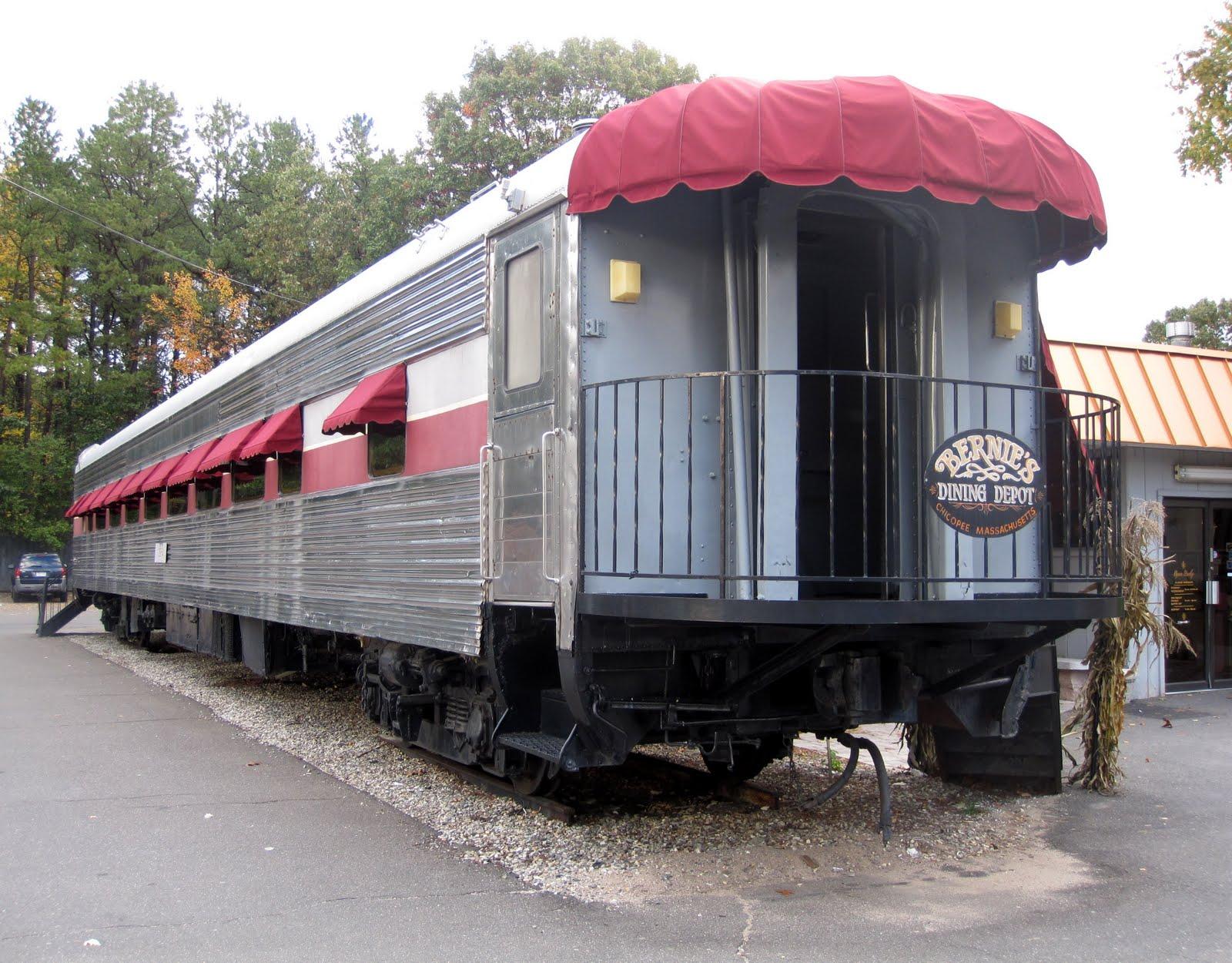 Bernie S Restaurant Railroad