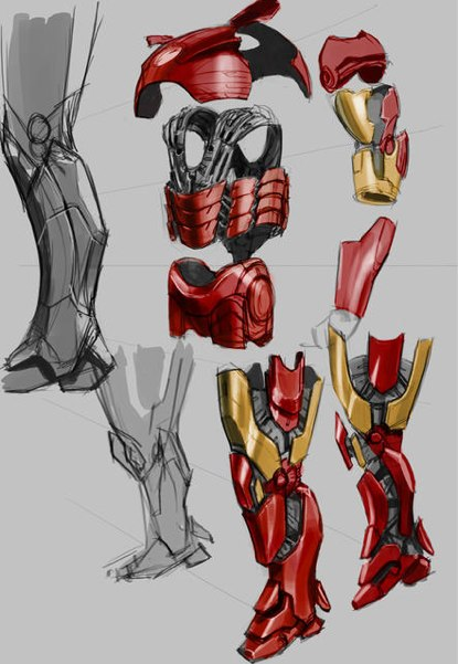iron man schematics