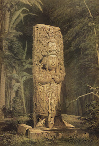 Lámina 1: Idol at Copan